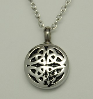 Celtic cremation jewelry