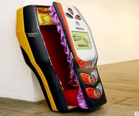 Nokia phone coffin