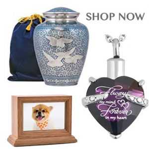 funeral urns jewelery